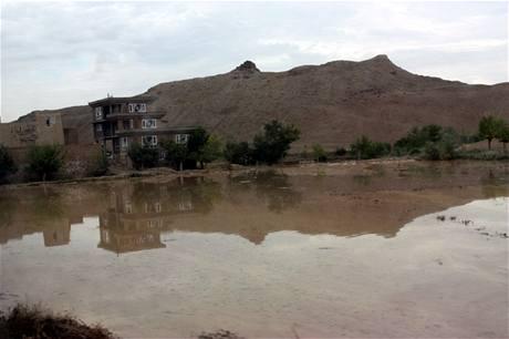 Záplavy v afghánském Lógaru