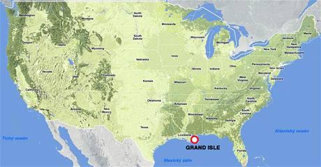 Grand Isle (Louisiana, USA)
