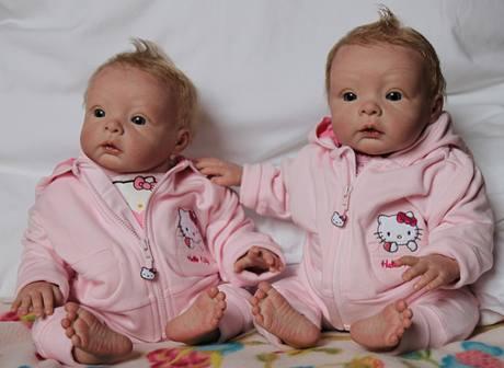 Umělé miminko - dvojčata