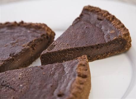 Nugátový dort neboli torta alla gianduja