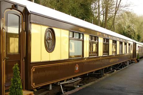 Pullmanovy vagony představovaly luxus stejně jako Titanic