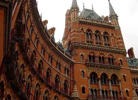 St. Pancras Station, Londn, Velk Britnie