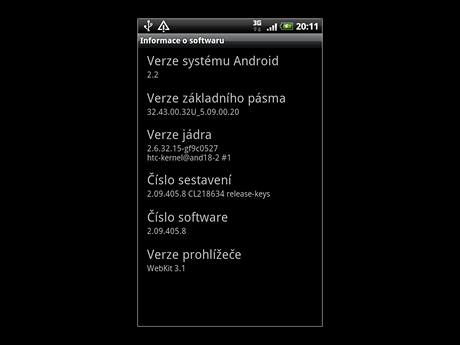 Update HTC Desire na Android 2.2 FroYo