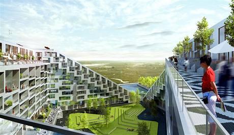 Obyvatelé Domu 8 najdou pod jednou střechou ruch velkoměsta i klid předměstí
