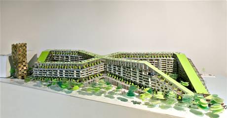 Autorem bytového projektu je architektonická kancelář BIG