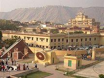 Indická kamenná observatoř Jantar Mantar