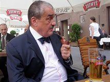 Šéf české diplomacie v polské Varšavě (2. srpna 2010)