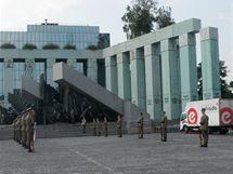 Památník Varšavského povstání v Polsku (2. srpna 2010)