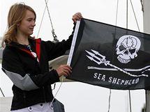 Čtrnáctiletá Laura Dekkerová vyplula z NIzozemí do Portugalska (4. srpna 2010)