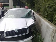 Tragická nehoda u Vranské přehrady