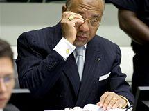 Charles Taylor před mezinárodním tribunálem (5. srpna 2010)
