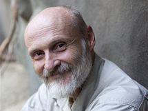 Petr Velenský, vedoucí oddělení plazů, obojživelníků, ryb a bezobratlých v pražské zoo