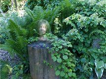 V zahradě najdete i pár střelených nápadů, které ovšem nikoho nemohou urazit