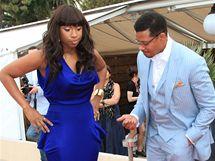 Štíhlost Jennifer Hudsonové obdivoval v Cannes i Terrence Howard