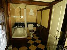 Koupelna ve vagonu