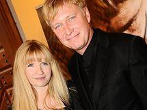 Michal Dlouhý s manželkou