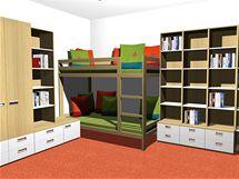 Dětský pokoj pro dva předškoláky