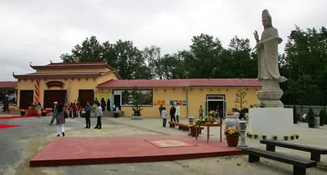 Nový buddhistických chrám v Chebu (19.8.2010)