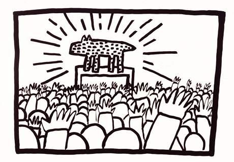 Keith Haring, Untitled, 1980 © Keith Haring Foundation