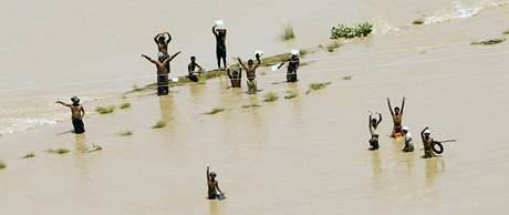 Záplavy v Pakistánu. (11. srpna 2010)