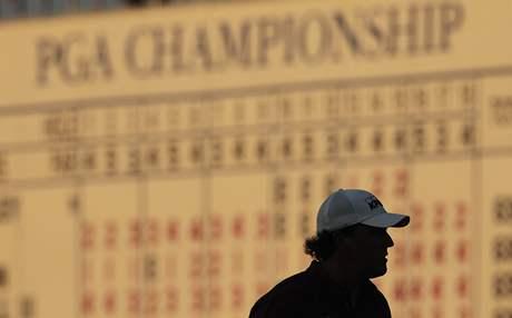Phil Mickelson, první kolo PGA Championship 2010.