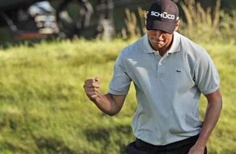 Martin Kaymer, čtvrté kolo PGA Championship 2010.