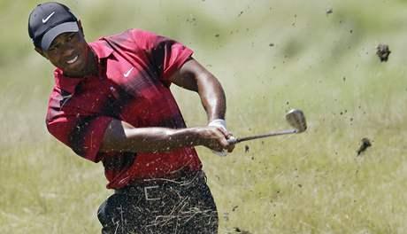 Tiger Woods, čtvrté kolo PGA Championship 2010.