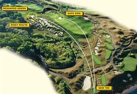 18. jamka Whistling Straits, dějiště PGA Championship 2010