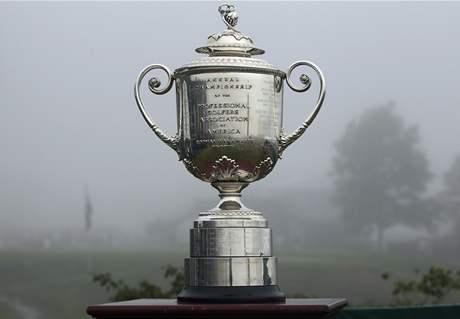 Whistling Straits, PGA Championship,mlha, trofej