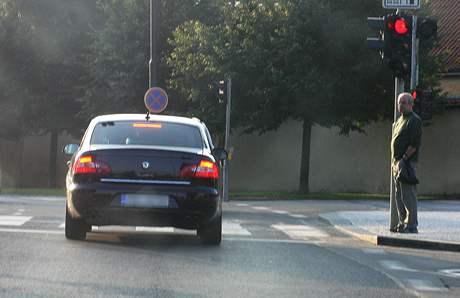 Auto ministra financí Miroslava Kalouska