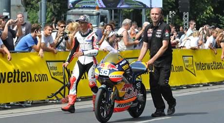 Doprovodný program Moto GP v rakouské Vídni.