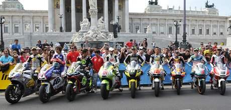 Doprovodný program pro MOTO GP v rakouské Vídni.