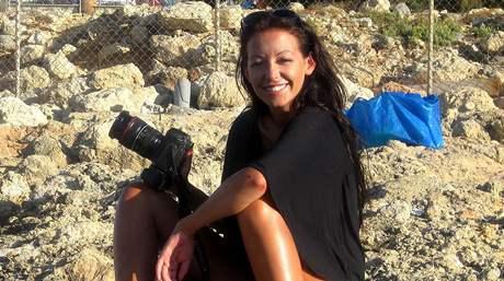 Agáta Hanychová nepustila fotoaparát z ruky ani na dovolené v Řecku