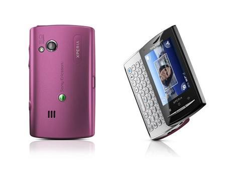 Sony Ericsson Xperia X10 mini pro Pink