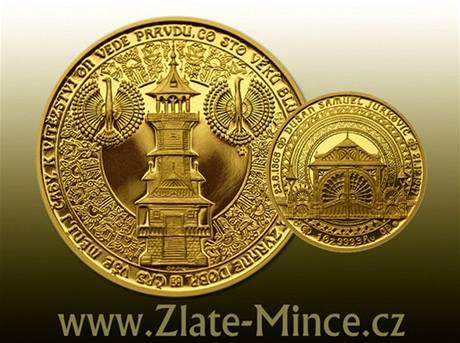 Medaile podle návrhu Vladimíra Oppla se vyznačuje detailně a precizně zpracovaným reliéfem