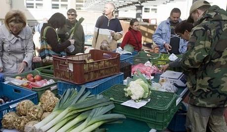 Klánovický farmářský trh, který organizuje Hana Michopulu