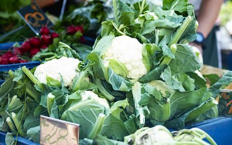 Z farmářských trhů v Klánovicích