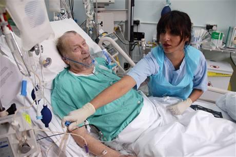 Nemocnice v Anglii. Ilustrační foto