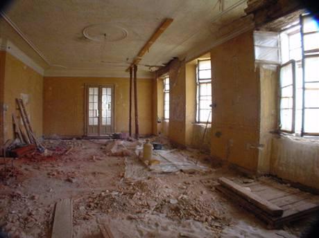 Knihovna před rekonstrukcí