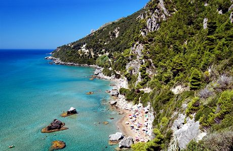 Řecko, Korfu, Mirtiotissa