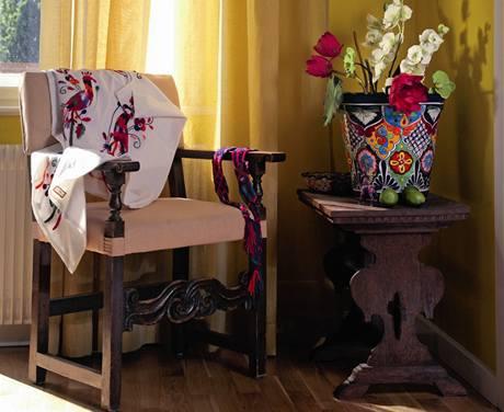 Tento styl kopíruje bydlení v Mexiku a Jižní Americe