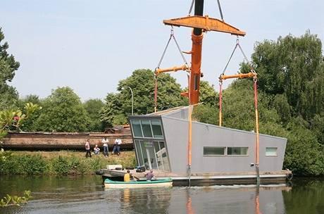 Exkluzivní dům Silberfish byl nedávno spuštěný na vodu