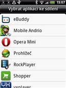 HTC Wildfire - uživatelské prostředí