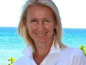 Jana Novotná - Stála po boku Martiny Navrátilové, která bojovala s rakovinou prsu.