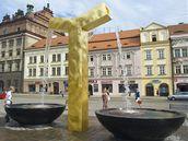 Kašny jsou na plzeňském náměstí teprve tři týdny a už se proti nim spojili lidé na facebooku.