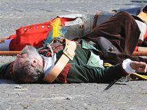 Do Brna se po 365 letech vrátili Švédové, Brňané město znovu ubránili (14. srpna 2010)