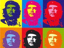 Slavný Che Guevarův portrét se stal předlohou spousty výtvarníků.