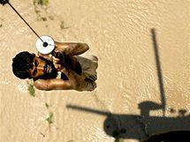 Záplavy v Pákistánu. (11. srpna 2010)