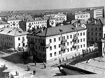 Leninsk (dnešní Bajkonur) v letech 1950 až 1960