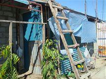 Slum s chatrčemi